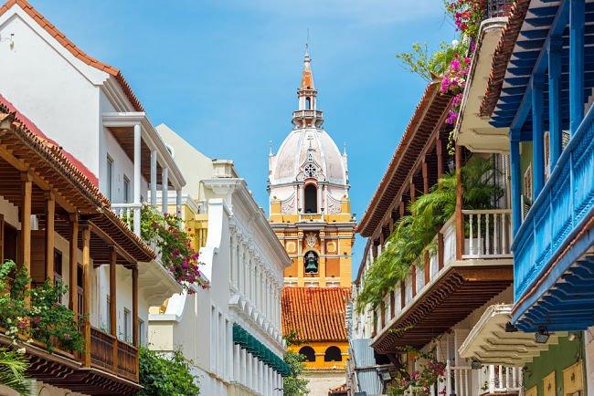 catedral en Cartagena de Indias
