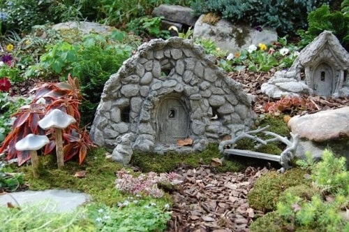 decorar el jardín