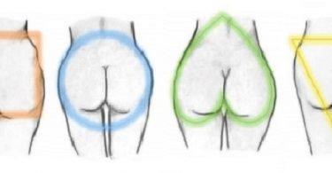 ejercicios según la forma de los glúteos