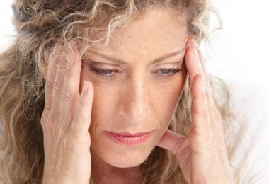 estrés mujer cansada