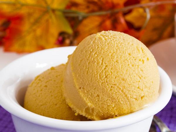 saludable helado vegano de dulce de leche With saludable helado vegano de dulce de leche