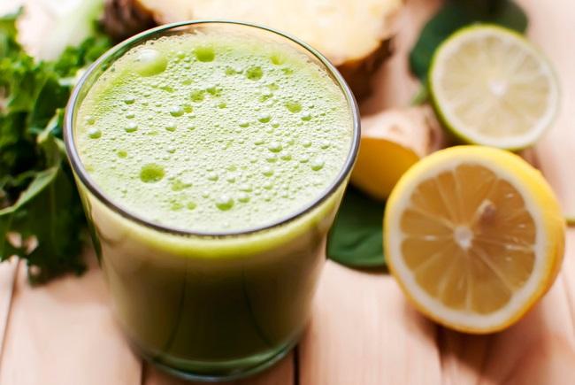 jugo natural para reducir la barriga