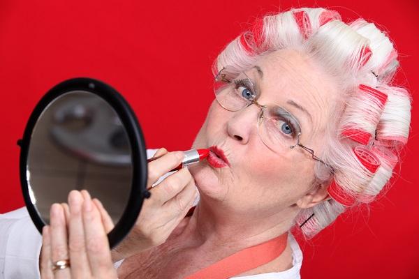 lucir joven y atractiva con la abuela