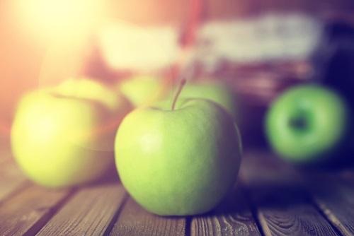manzanas beneficiosas para la reducción de la talla