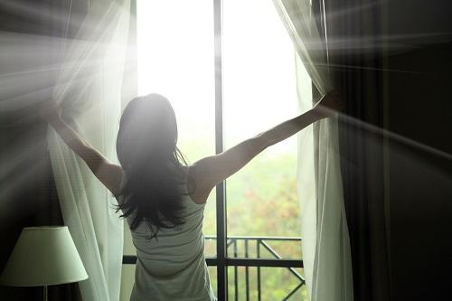 ventana abierta sacar ansiedad