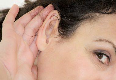 oído oreja audición sordera