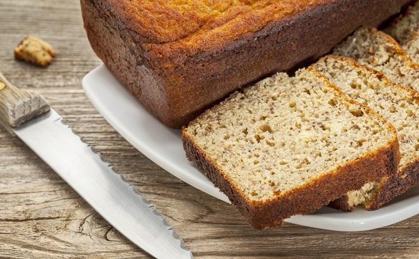 pan de barra sin gluten de almendra