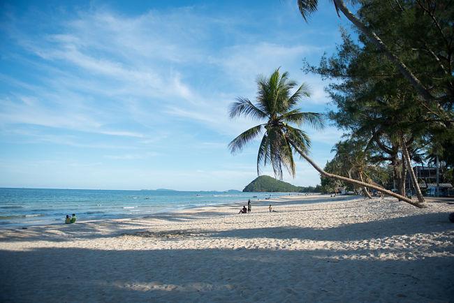playa de  la Isla de Koh Tao en Tailandia