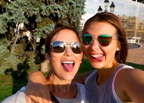relaciones madre e hija selfie