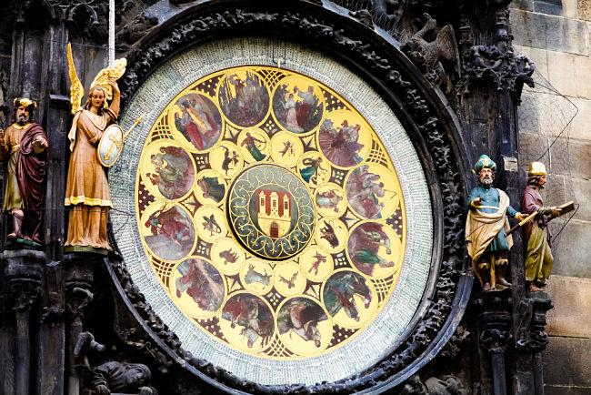 Reloj histórico de la ciudad de Praga