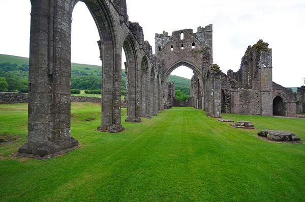 ruinas de abbey irlanda