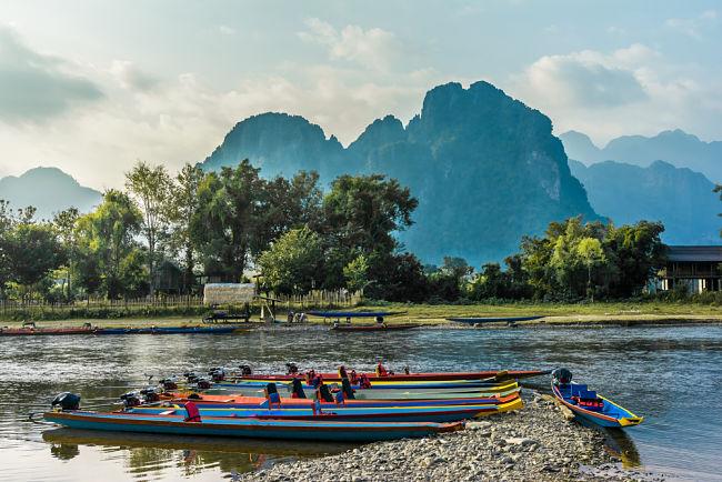 Laos paisaje