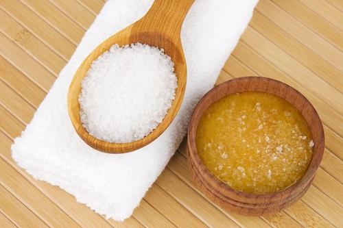 usos de la sal como tratameinto estético