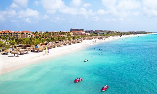 Eagle Beach, Aruba playas del caribe