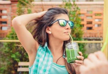 Ensaladas para beber en una dieta detox