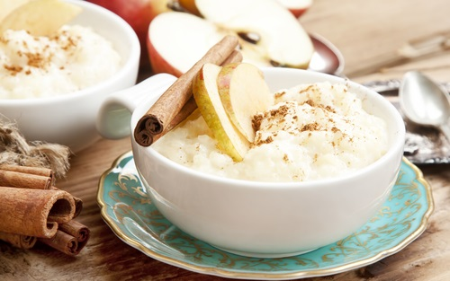 arroz con leche saludable