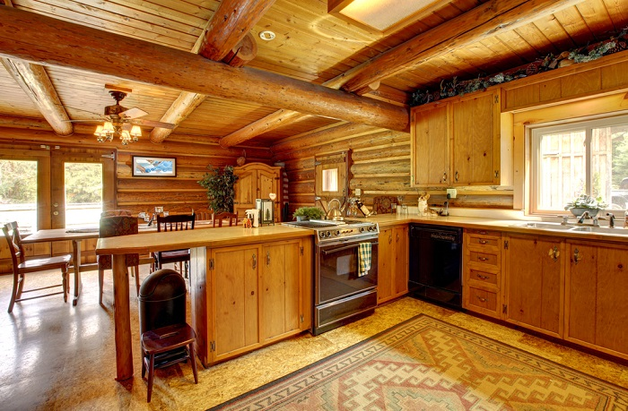 Ideas para la decoraci n de cocinas r sticas for Cocina rustica moderna