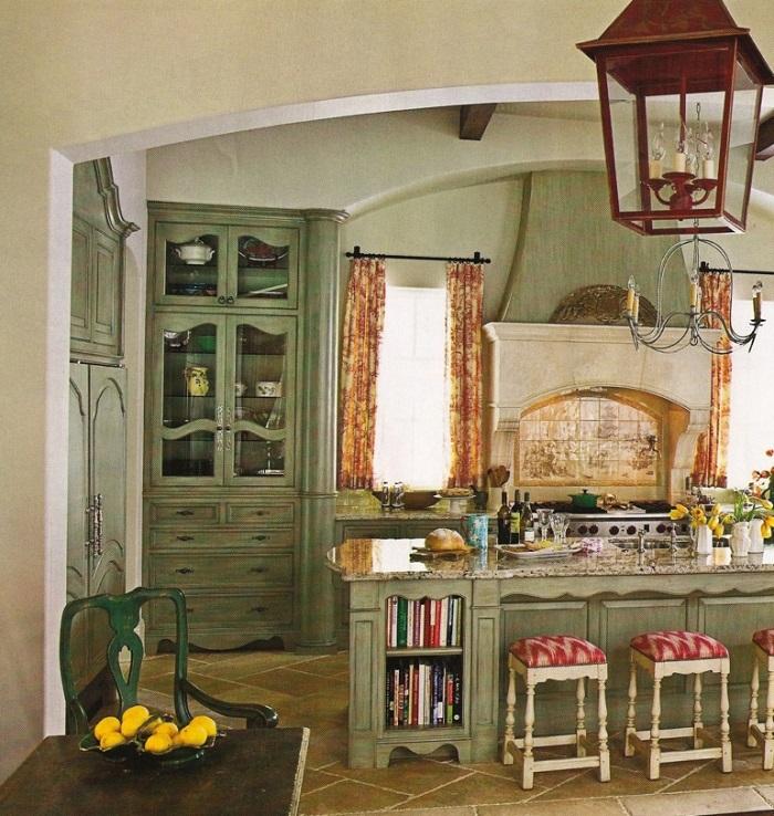 Aprenciando un diseño retro en nuestra cocina rústica