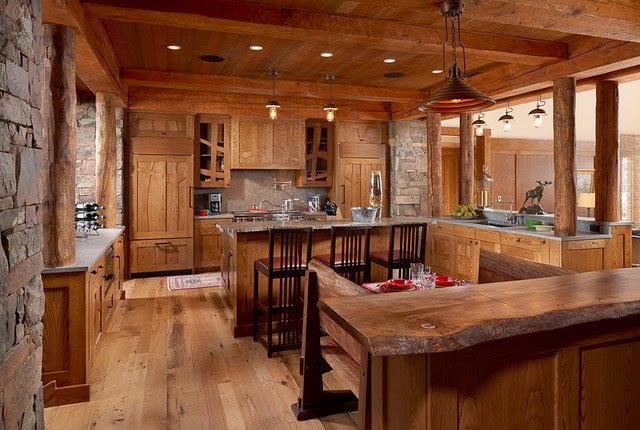 diseño de cocinas rústicas 7