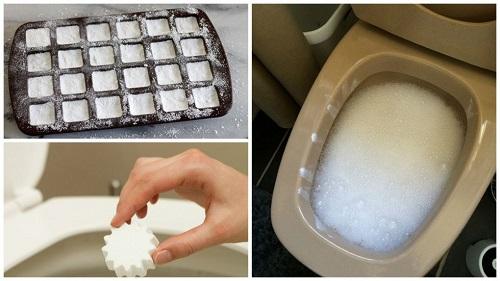 pastillas para desinfectar la taza del inodoro