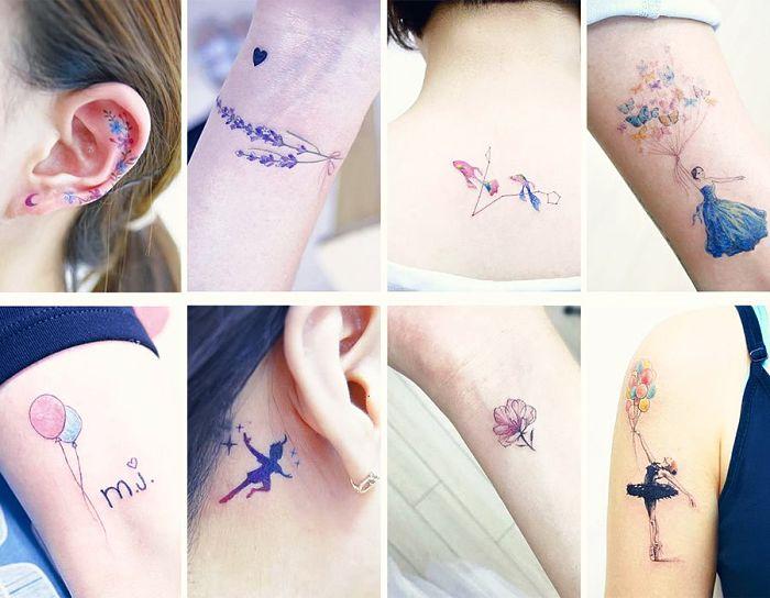 Tatuajes Pequeños Para Adolescentes Mujeres 35 tatuajes pequeños que tienen enormes significados