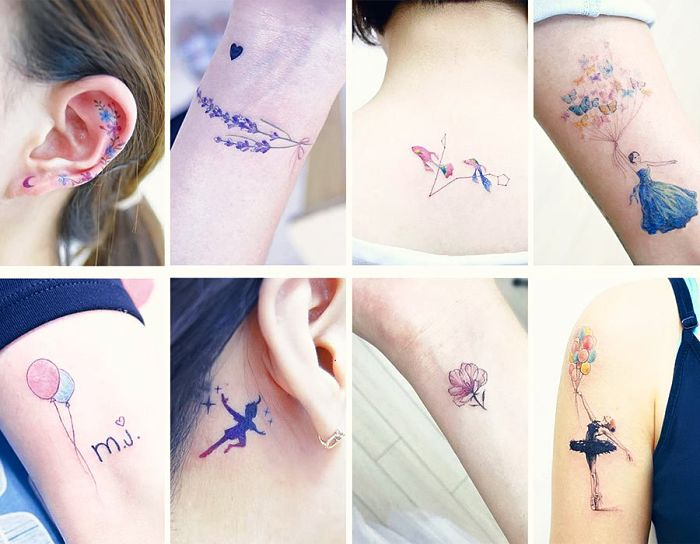 Ideas para hacer tatuajes pequeños y conocer su significado