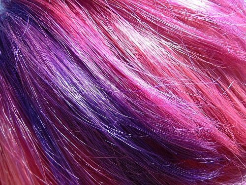 tono de cabello rosa