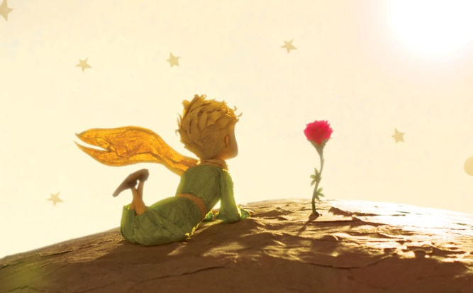 Sabes cual es la diferencia entre querer y amar, eso le dice a la rosa el principito