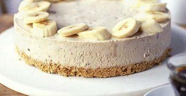 tarta de banana pastel de plátano vegano