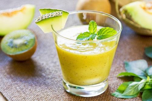 Batido de kiwi y melón