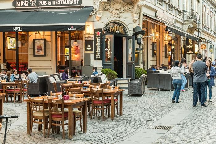 Cafeterías y destaurantes en Bucarest