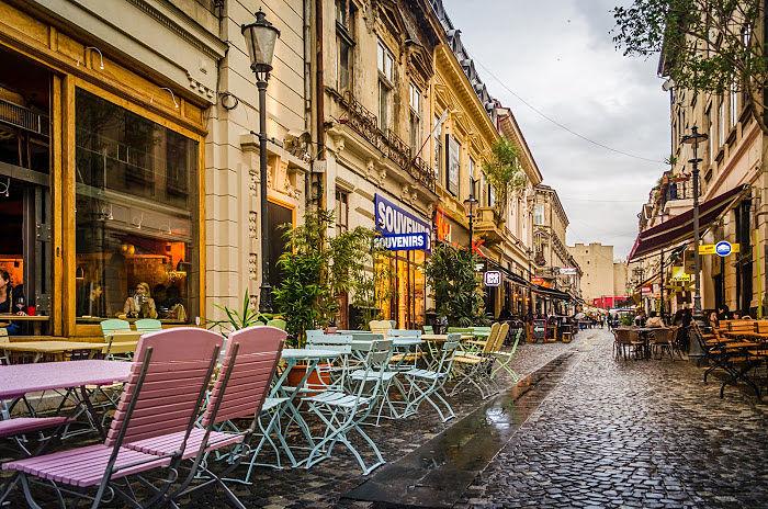 Bucarest y sus lugares para salir a comer afuera
