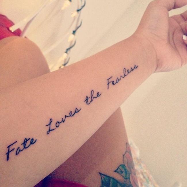 50 Frases Para Tatuajes Que Te Inspiraran Y Que Todas Quieren - Frases-positivas-para-tatuajes