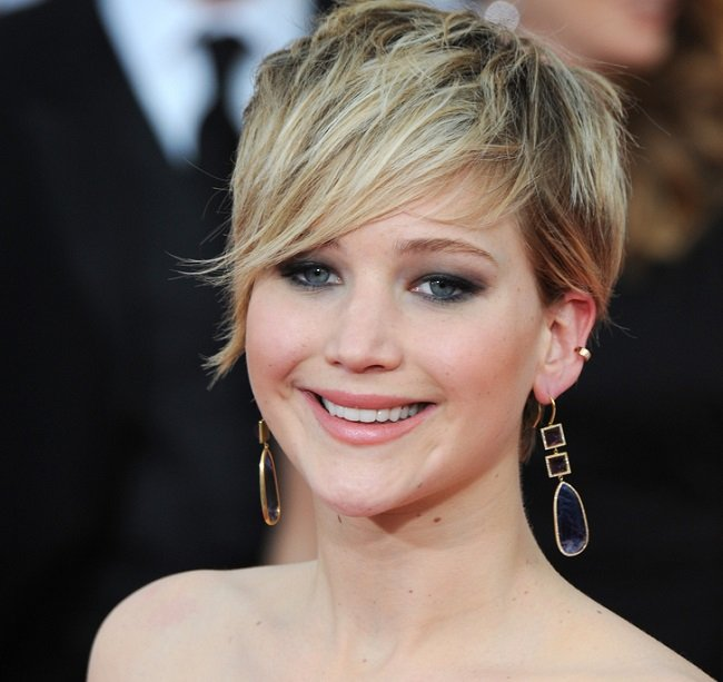 Jennifer Lawrence flequillos que son dendencia