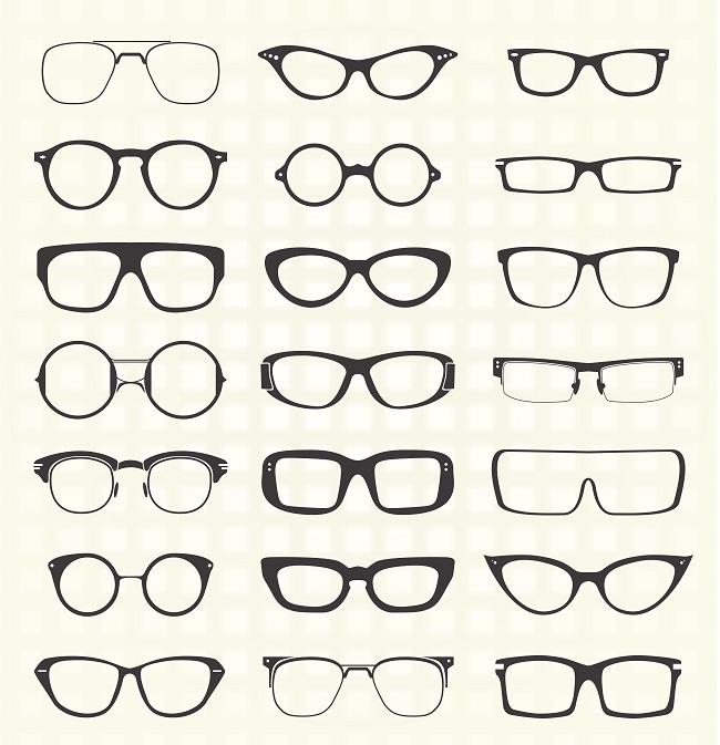 Diferentes estilos de monturas de gafas según tu rostro