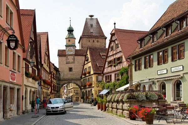 Rothenburg Ob Der tauber, ALemania pueblos mágicos de europa