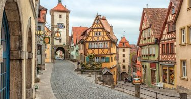 Rothenburg ob der Tauber Alemania, Europa
