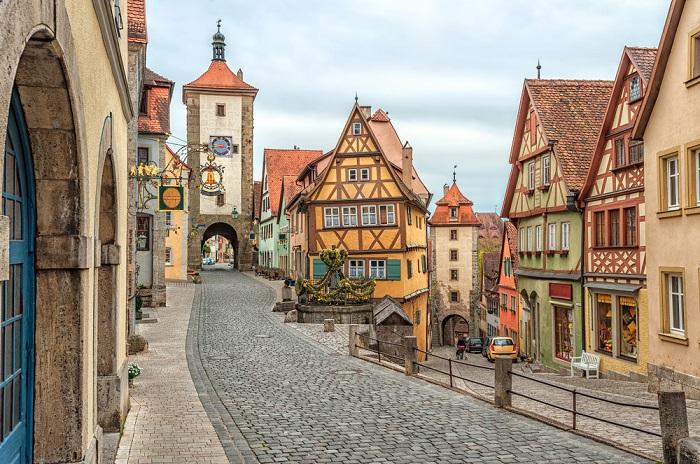 Rothenburg ob der Tauber Alemania, pueblos mágicos de Europa