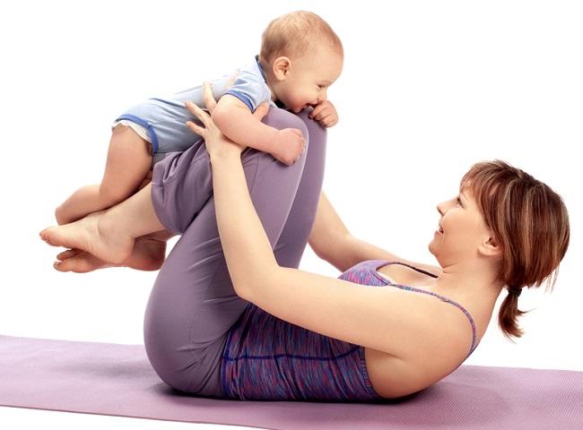 yoga con bebes