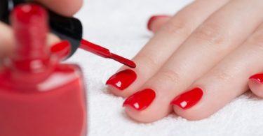 esmalte de uñas manicure