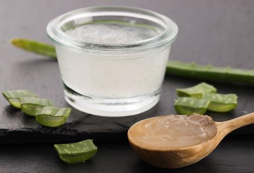 gel de aloe vera para el acné