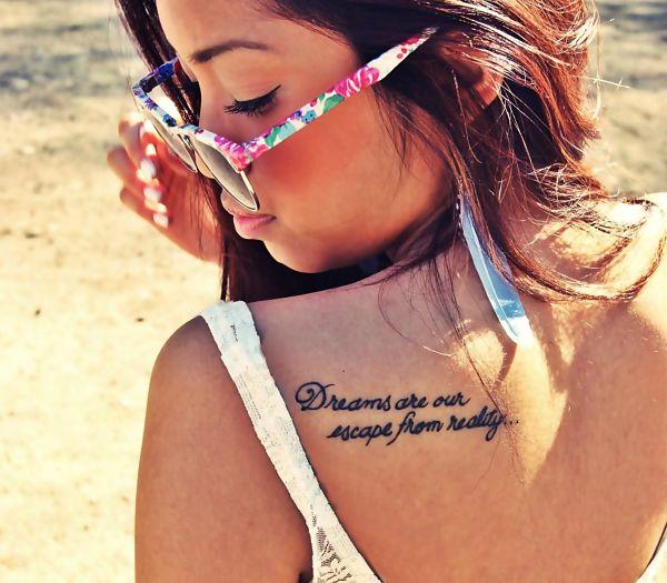 Frases para tatuaje en la espalda