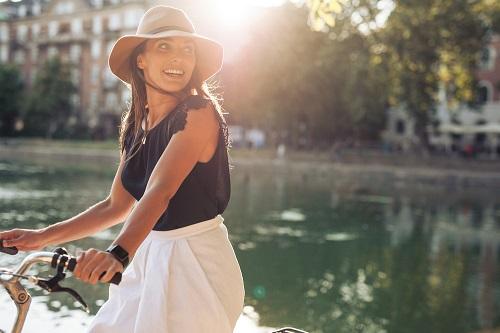 ejercicios en bicicleta