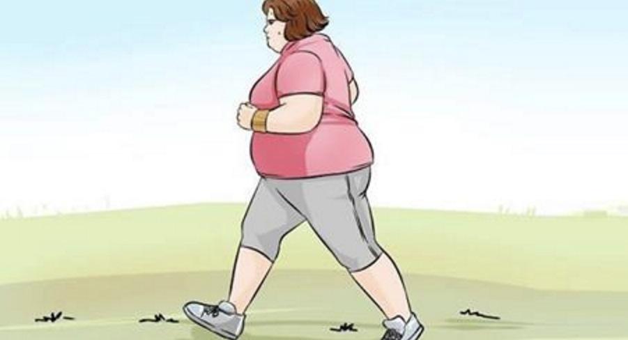 perdere peso caminando