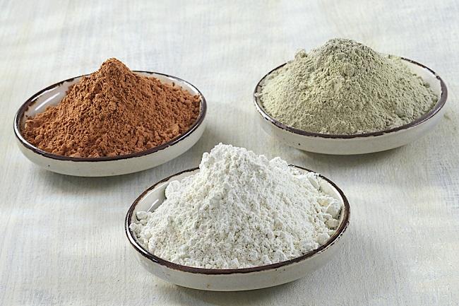 Ingredientes para la preparación de la crema casera anti flacidez