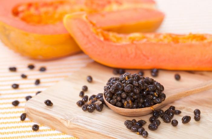 semilla de papaia propiedades curativas