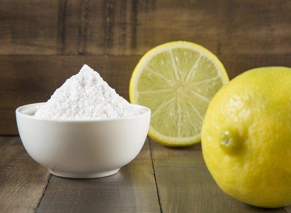 bicarbonato de sodio y limón para blanquear las axilas