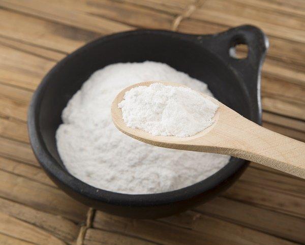 blanquear las axilas con bicarbonato