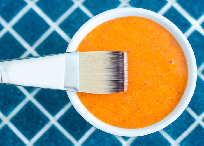 mezcla casera con zanahoria, aloe vera y vinagre de manzana para eliminar varices