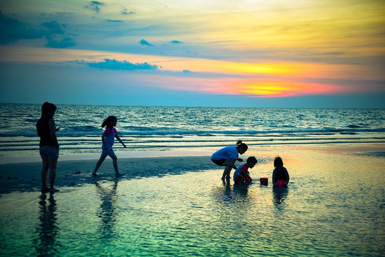 Playa Gaviota azul un lugar paradisiaco en Cancún